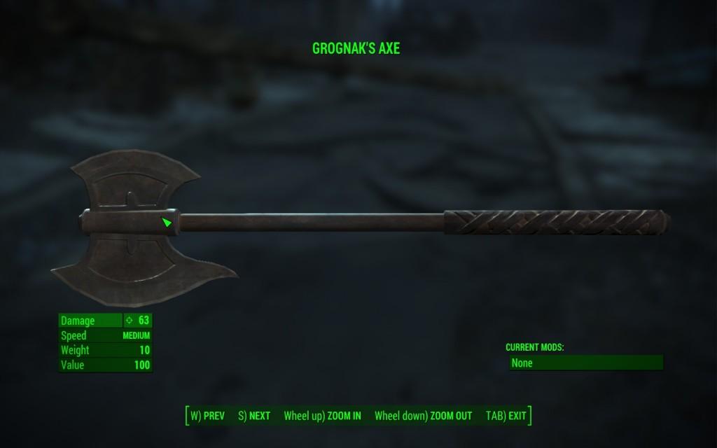 Grognak's Axe