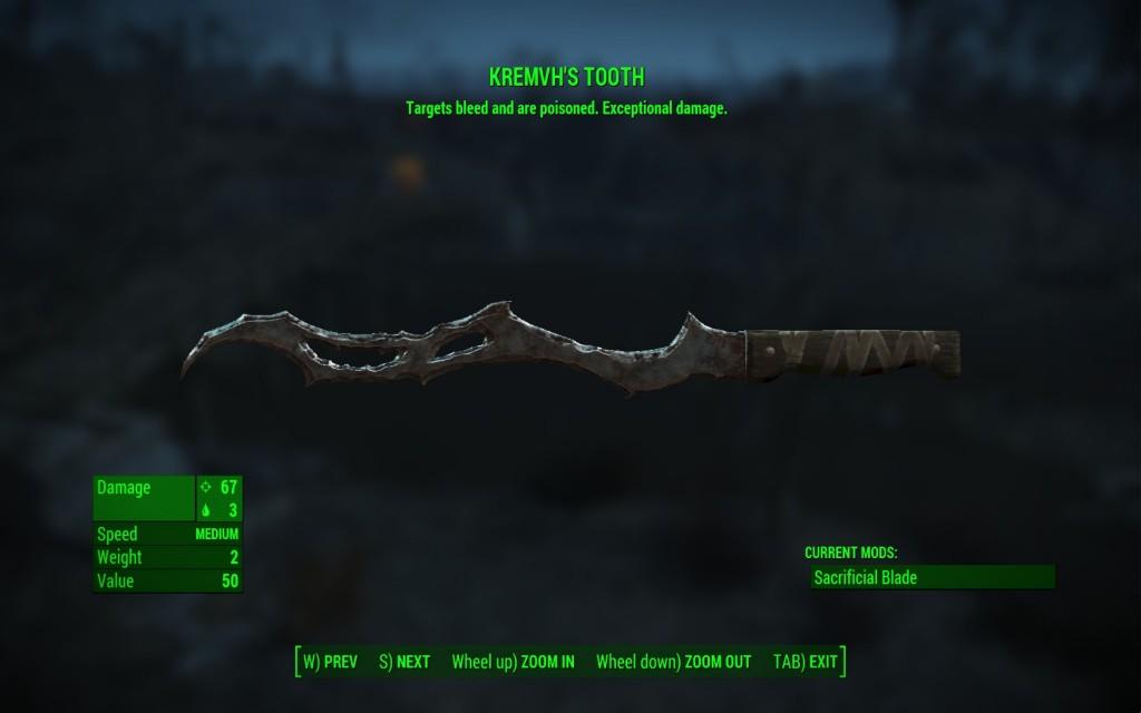 Kremvh's Tooth